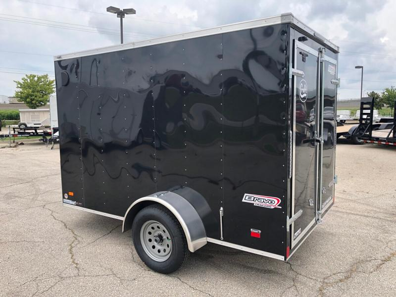 2020 Bravo 6'x10' Enclosed w/ Rear Barn Door
