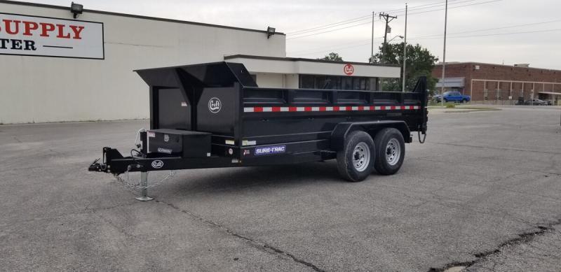 "2020 Sure-Trac 80""x14' HD Low Pro Dump Trailer- 14k"