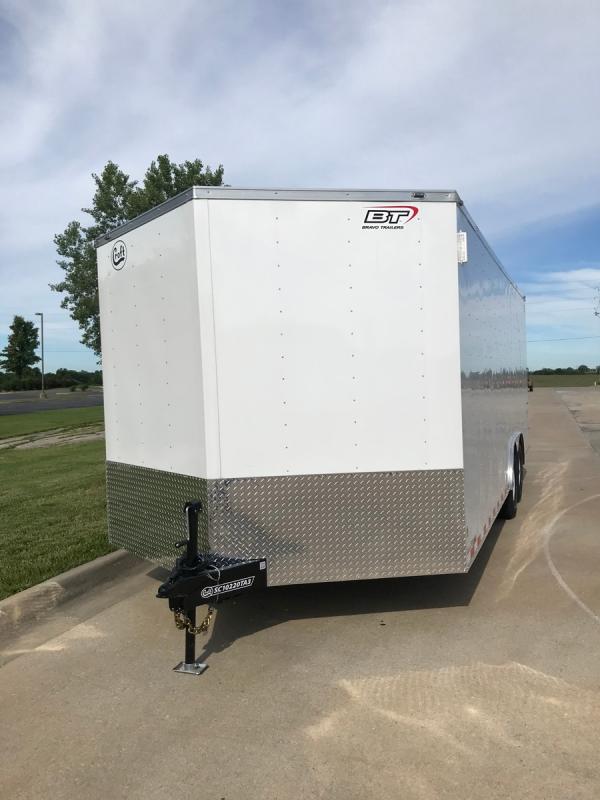 2020 Bravo 8.5'x20' Enclosed Car Hauler