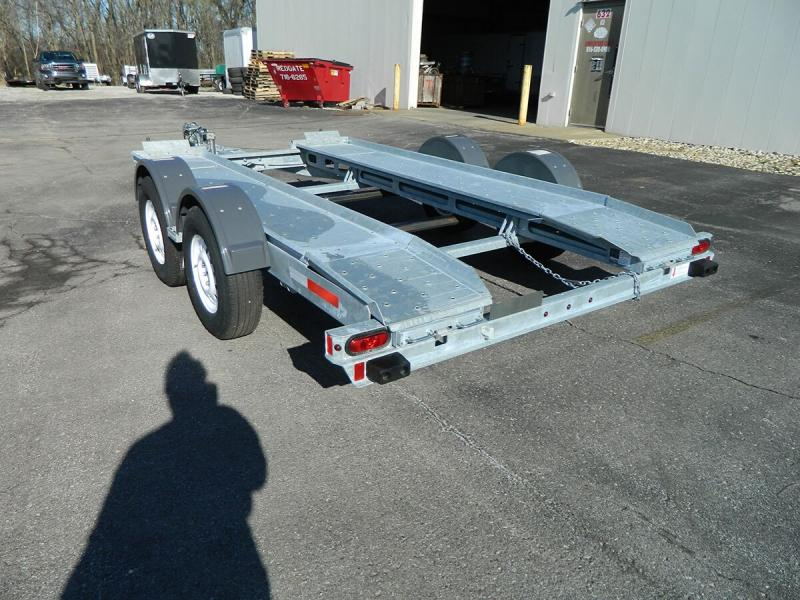2018 Galvanized Croft Auto Transport - 7k