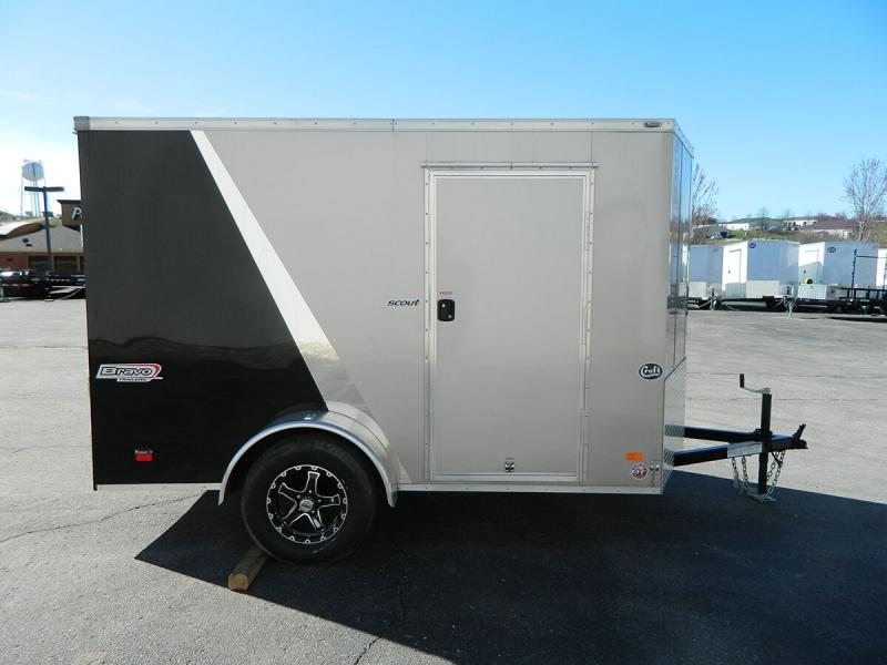 2019 Bravo 6'x10' SS Enclosed w/ Ramp Door