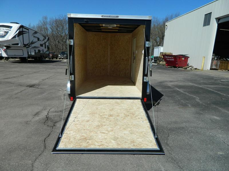 2019 Bravo 6'x12' SS Enclosed w/ Ramp Door