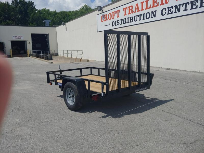 2019 Sure-Trac 5'x8' Angle Iron Utility Trailer