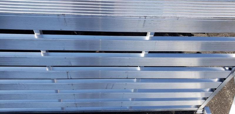 """USED 2020 Aluma 78""""x14' Aluminum Utility Trailer - 3.5k"""