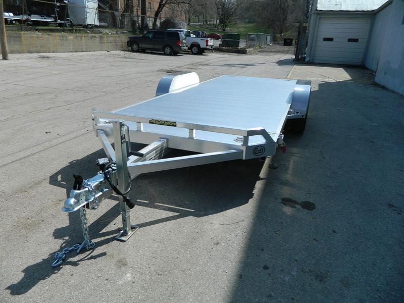 "2020 Aluma 82""x18' Tilt Bed Car Hauler - 7k"