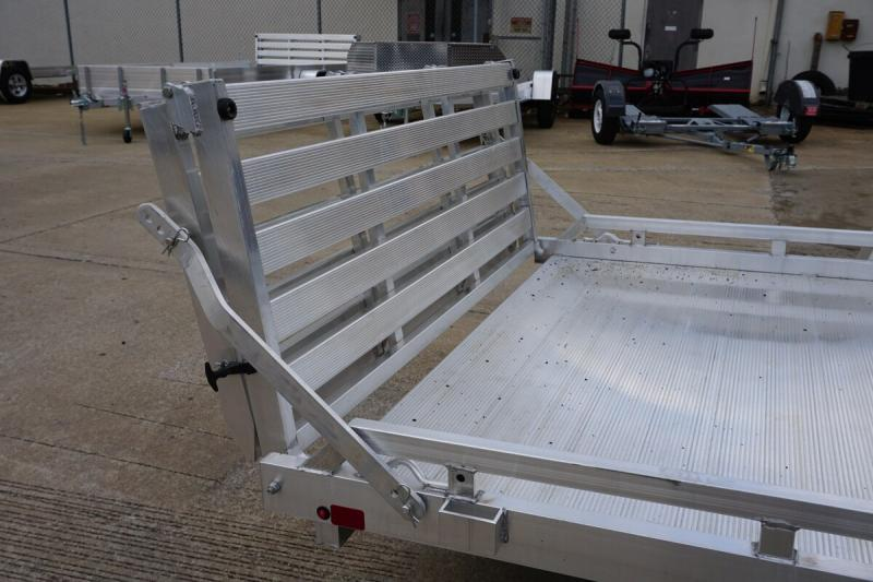 "Aluma 77""x12' Aluminum Utility Trailer w/ Bi-fold - 3.5K"