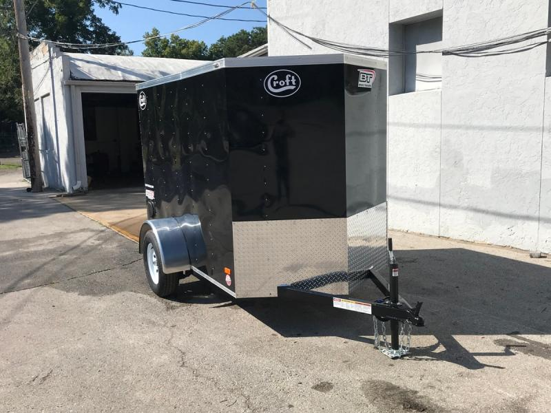 2020 Bravo 5'x8' Enclosed w/ Ramp Door