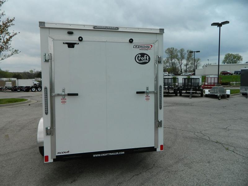 2019 Bravo 6'x10' GT Enclosed w/ Ramp Door