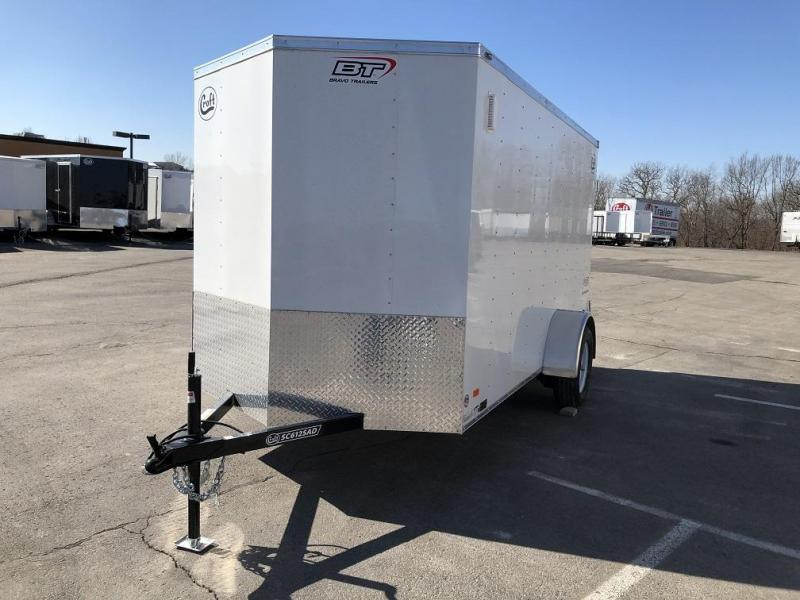 2020 Bravo 6'x12' Enclosed w/ Rear Barn Door