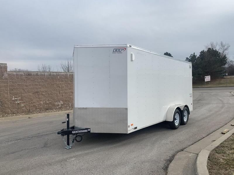 2020 Bravo 7'X16' Enclosed w/ Ramp Door