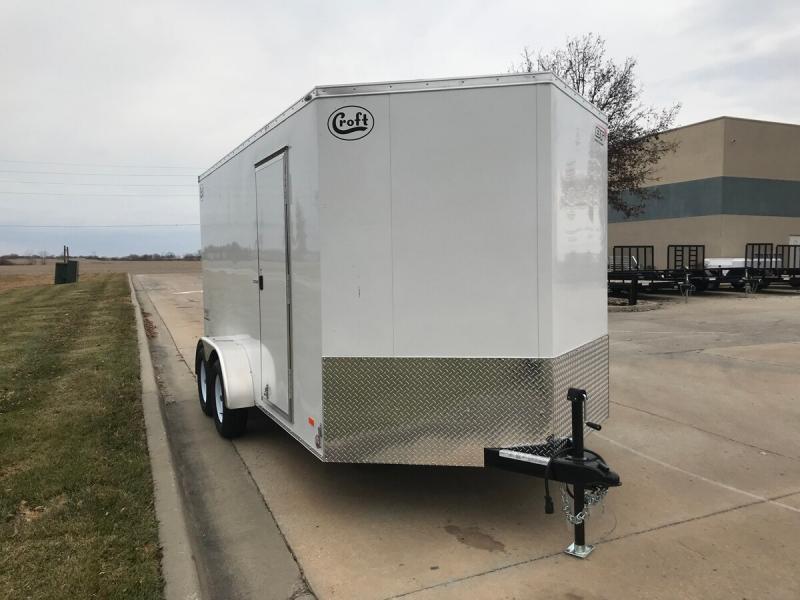 2020 Bravo 7'x14' GT Enclosed w/ Ramp Door