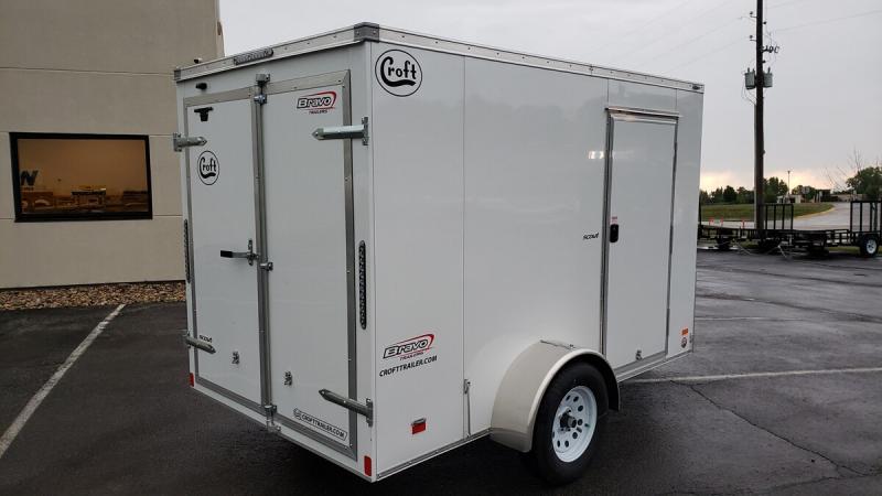 2020 Bravo 6'x10' GT Enclosed w/ Rear Barn Doors