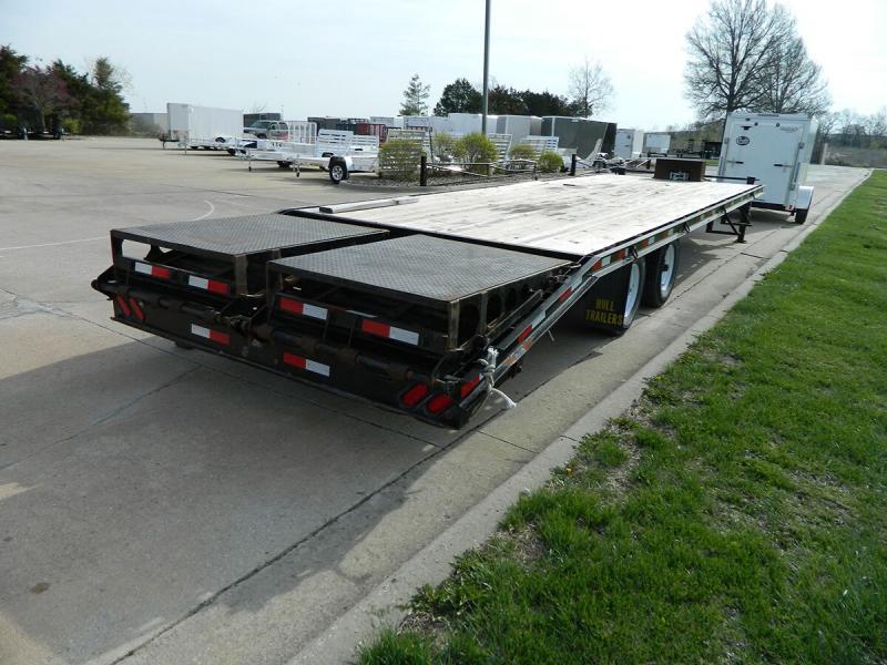 Used 2015 Hull 8.5' x 25+5' Bumper Pull Deckover - 14k