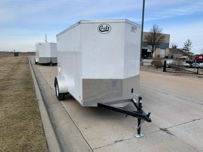 2020 Bravo 5'x10' Enclosed w/ Ramp Door