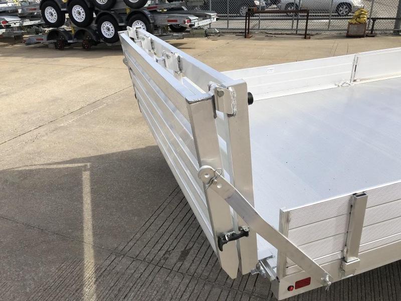 "2020 Aluma 81""x13' Aluminum Utility Trailer - 3.5k"