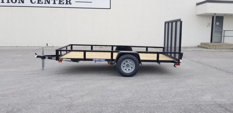 2020 Sure-Trac 6'x12' Angle Iron Utility Trailer