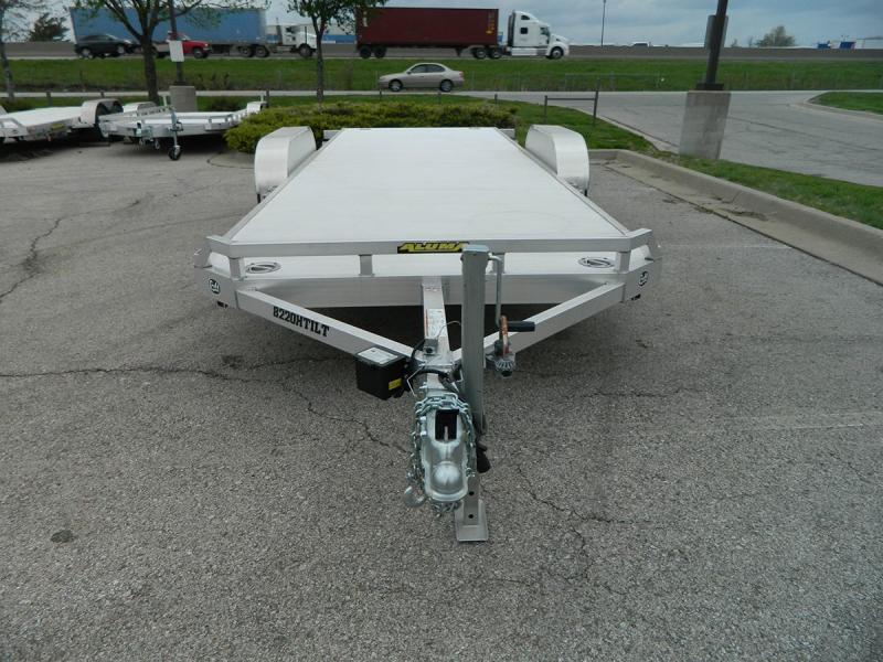 "2020 Aluma 82""x20' Tilt Bed Car Hauler - 10k"