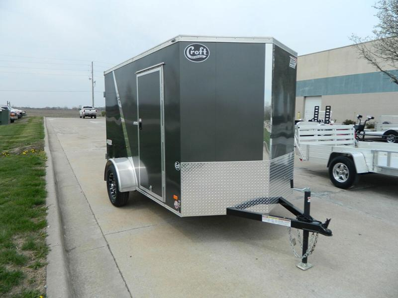 2019 Bravo 6'x12' SS Enclosed w/Rear Barn doors
