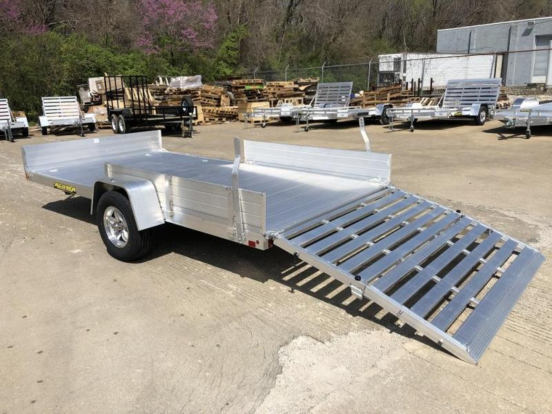 "Aluma 81""x13' Aluminum Utility Trailer - 3.5k"