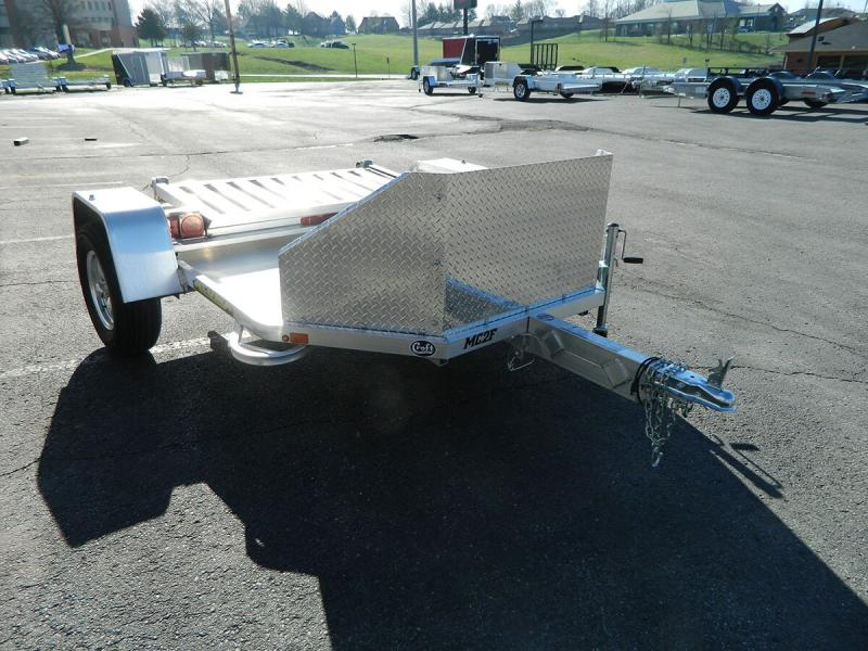 "2020 Aluma 72""x10' Fold Up Dual Bike Hauler"
