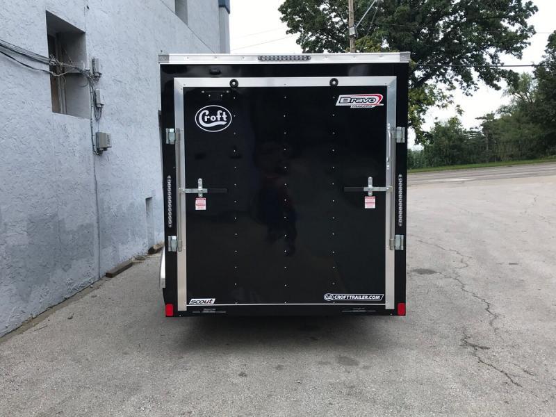 2020 Bravo 6'x12' Enclosed w/ Ramp Door