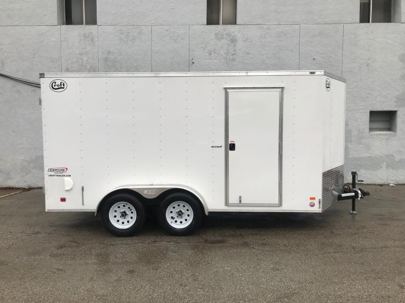 2020 Bravo 7'x14' Enclosed w/ Rear Barn doors