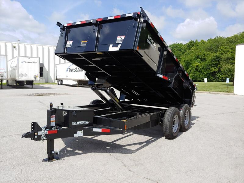 "2019 Rice 82""x14' HD Dump Trailer - 14k"