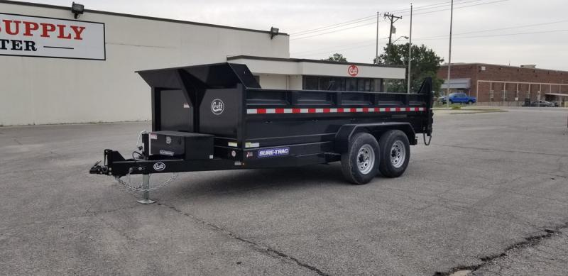 "2020 Sure-Trac 80""x14' HD Low Pro Dump Trailer- 14k"