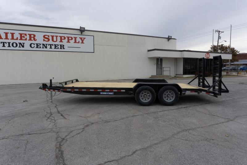 "2020 Sure-Trac 81""x20' Implement Trailer - 14k"