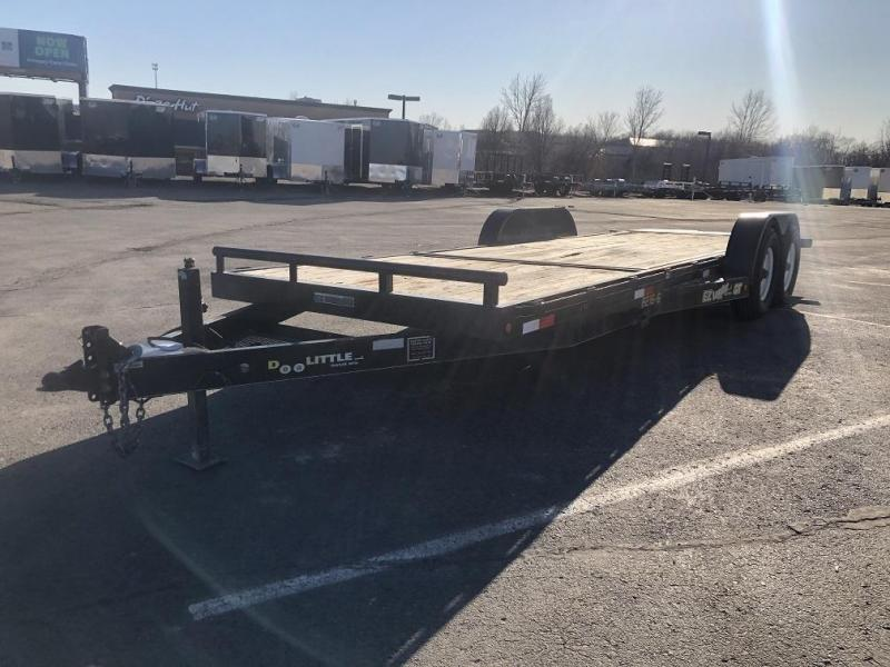 USED 16'+6' Equipment Tilt Bed Trailer - 14K