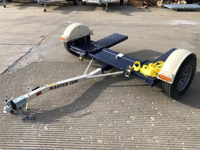 "2019 Master Tow 80"" Car Dolly - Electric Brakes"