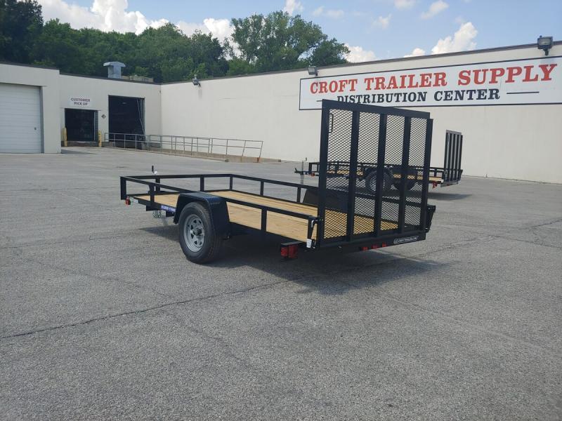 2019 Sure-Trac 6'x12' Angle Iron Utility Trailer