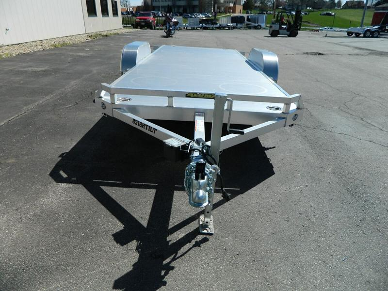 "2019 Aluma 82""x18' Tilt Bed Car Hauler - 10k"