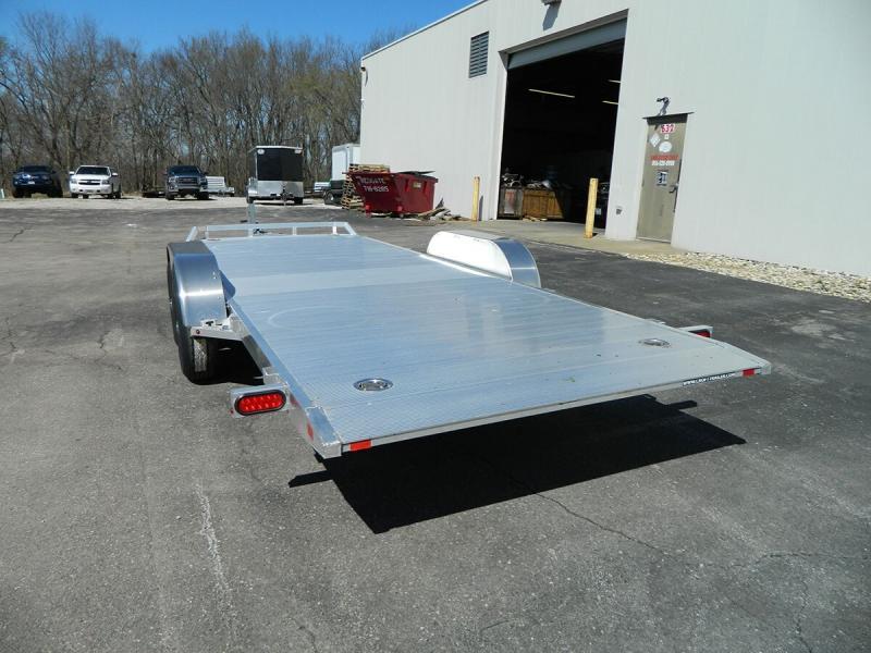 "2020 Aluma 82""x18' Tilt Bed Car Hauler - 10k"