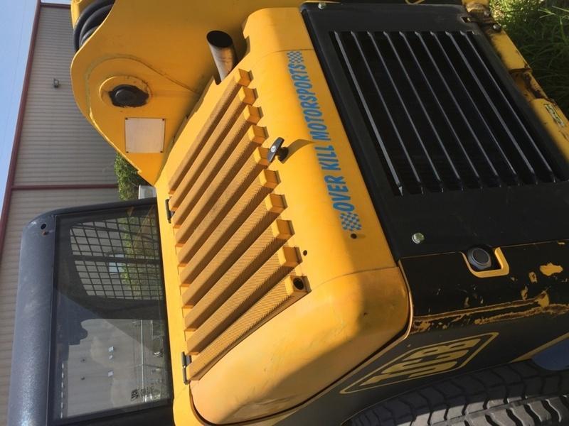 2004 JCB Tractor Model 190 W/ Attachments Single Fork - Dual Fork - One-Yard Bucket - Palm Tree Boom