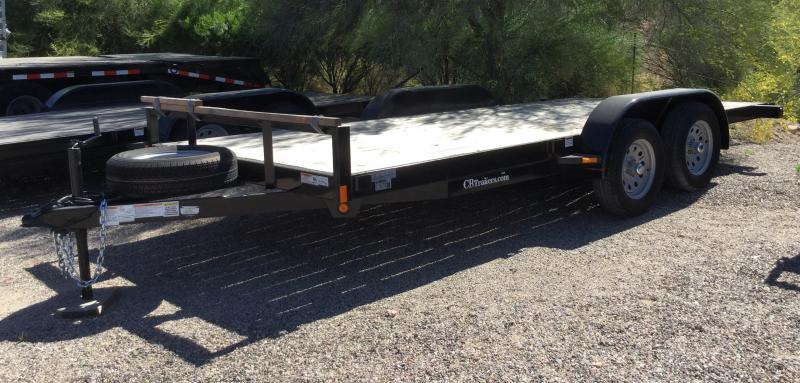 2020 C and B Quality Trailer Works COMP 16-5TA Flatbed Trailer