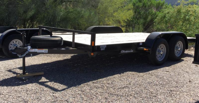 2020 C and B Quality Trailer Works COMP14-5TA Flatbed Trailer