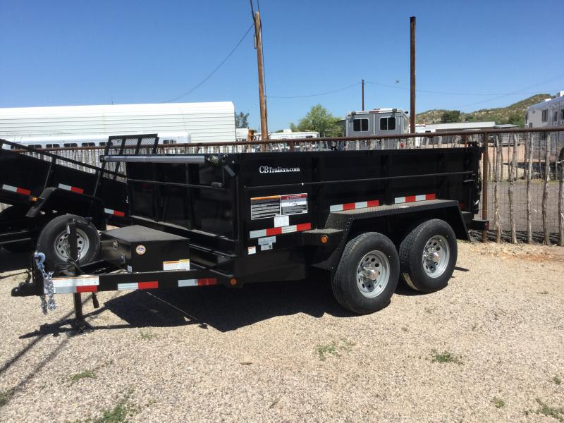 2020 C and B Quality Trailer Works 10' Dump Trailer