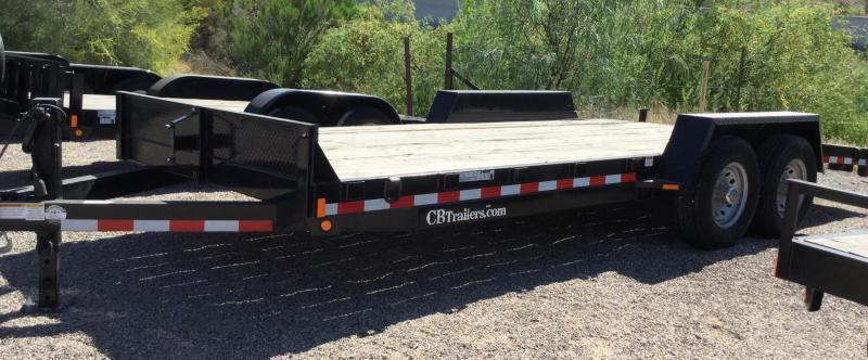 2019 C and B Quality Trailer Works EQ8220-14K Flatbed Trailer