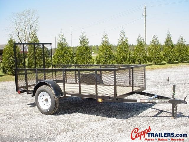 2020 Carry-On 5X10GWHS Utility Trailer