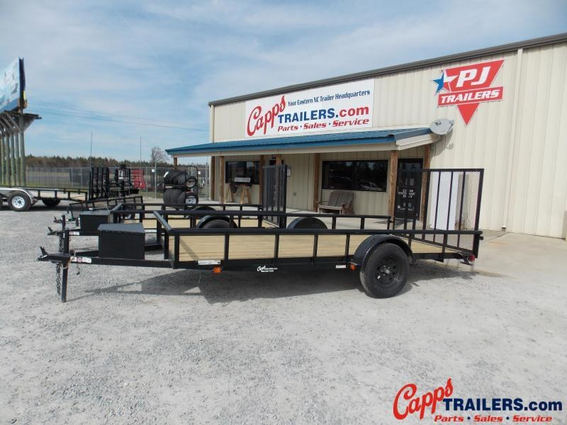 2019 Carry-On CO 6X14GWPTLEDNT Utility Trailer
