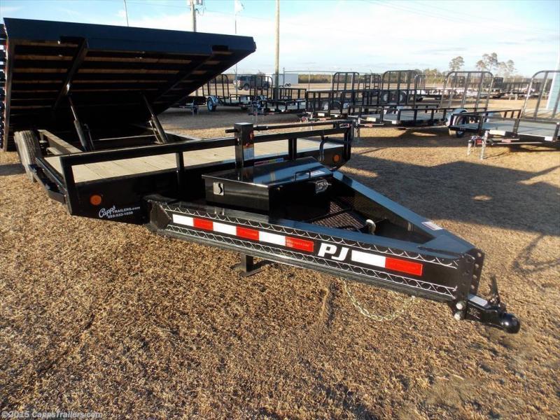 2020 PJ Trailers T8J2672BSTK4RTZ Tilt Deck