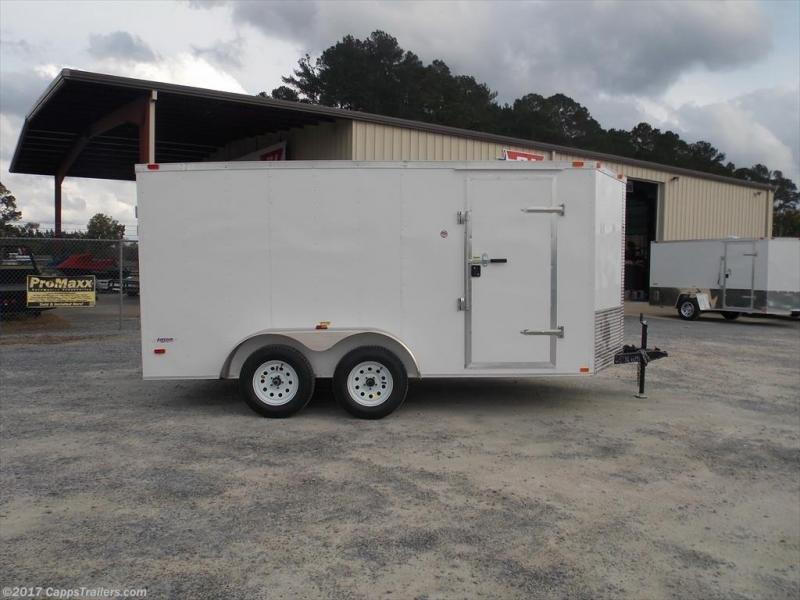 2020 Freedom Trailers FD 7X14TA2-VN+3 Enclosed Cargo Trailer