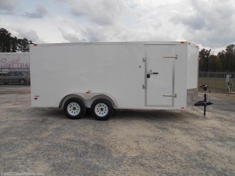 2020 Freedom Trailers FD 7X16TA2-VN+12 Enclosed Cargo Trailer
