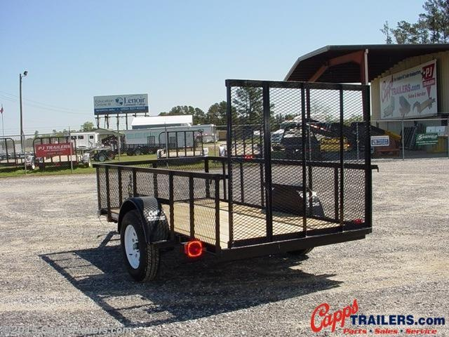 2020 Carry-On 5X10GWHS Utility Trailer