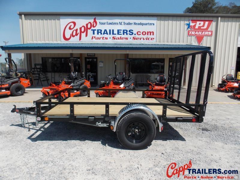 2020 PJ Trailers U721031DSGK Utility Trailer