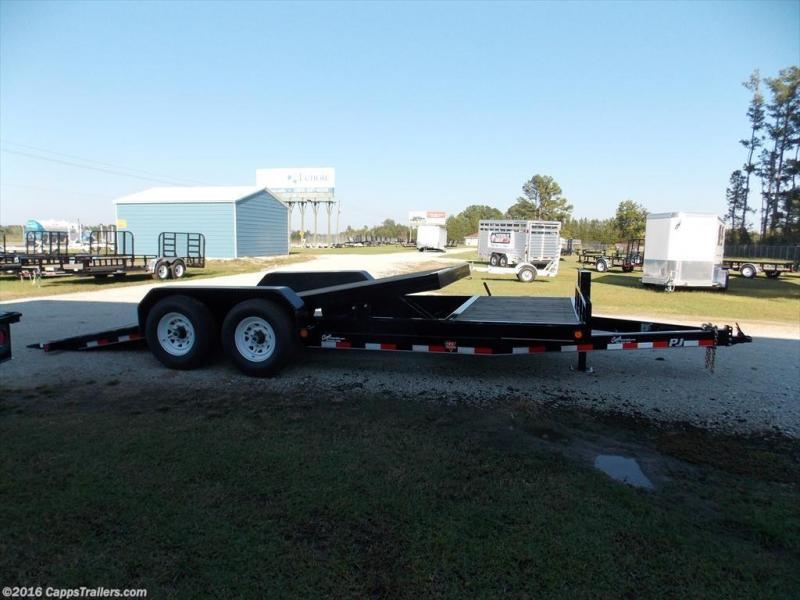 2020 PJ Trailers T6J2072BTTKT Vehicle Tilt Deck
