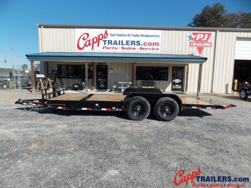 2020 PJ Trailers T6J2072BTTKT Vehicle Tilt Deck