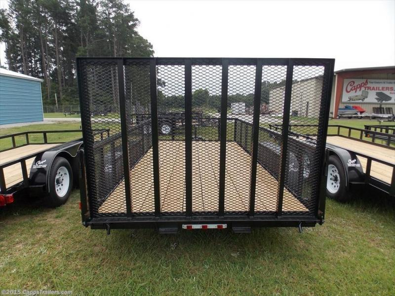 2020 Carry-On CO 6x16GWHS1BRK Utility Trailer