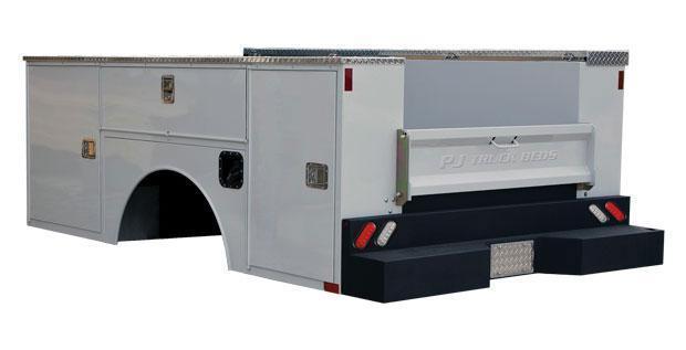 2018 PJ Truck Beds PJ PJG98/78VVSS - 8 SINGLE WHEEL Truck Bed